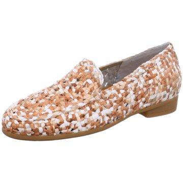 Damen  Ballerina zapatos  Lodi Ballerina  aus beigen Wildleder Größe 365 91676a