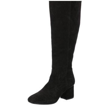 Alpe Woman Shoes Weitschaftstiefel schwarz