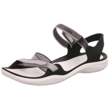 CROCS Komfort Sandale grau