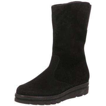 Semler Komfort Stiefel schwarz