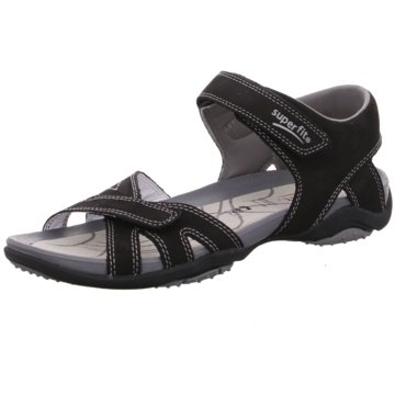 Superfit Komfort Sandale schwarz