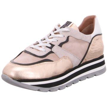 Mjus Plateau Sneaker gold