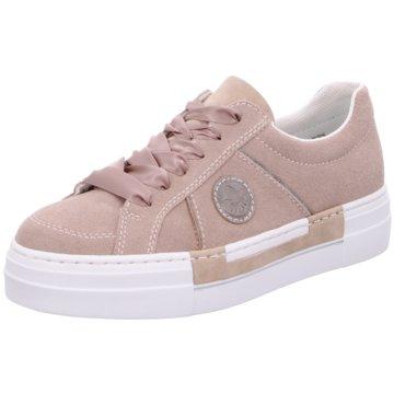 Rieker Plateau Sneaker rosa