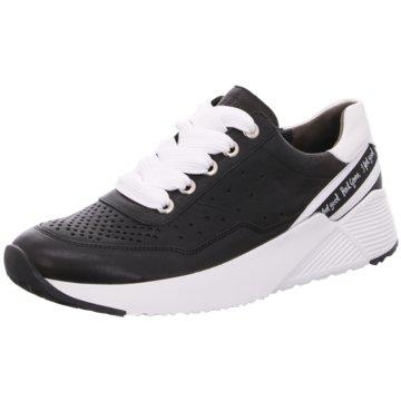 Paul Green Sportlicher SchnürschuhSneaker schwarz