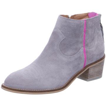 Alpe Woman Shoes Ankle Boot grau