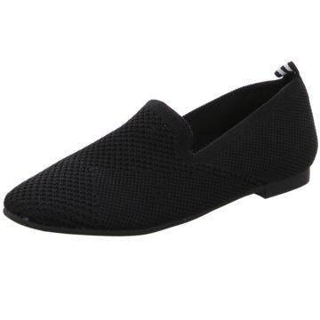 La Strada Klassischer Slipper schwarz