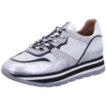 Mjus Plateau Sneaker silber