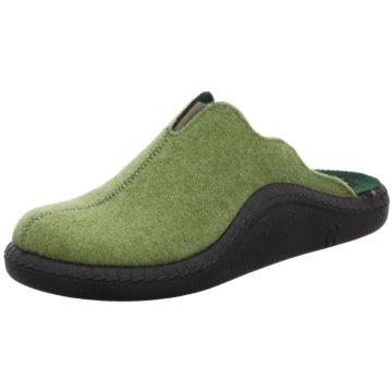 Romika Hausschuh grün