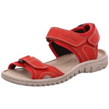 Josef Seibel Komfort Sandale rot