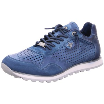 Cetti Sportlicher Schnürschuh blau