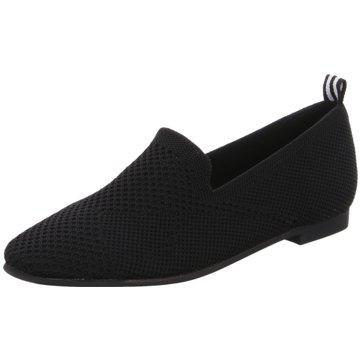 La Strada Slipper schwarz