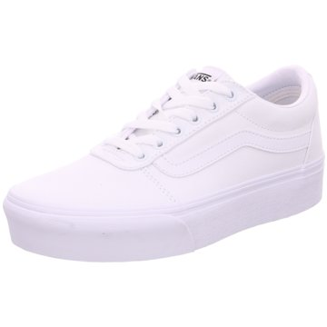 Vans Sneaker LowWard Plattform weiß