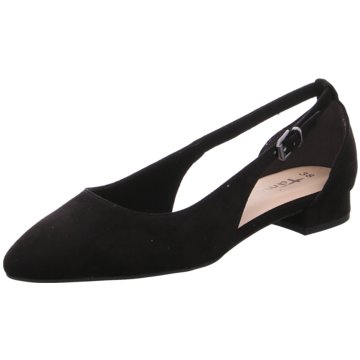 Tamaris Riemchen Ballerina schwarz