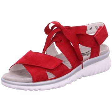 Semler Komfort Sandale rot
