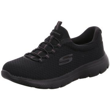 Skechers Laufschuh schwarz