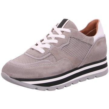 030 berlin Plateau Sneaker grau