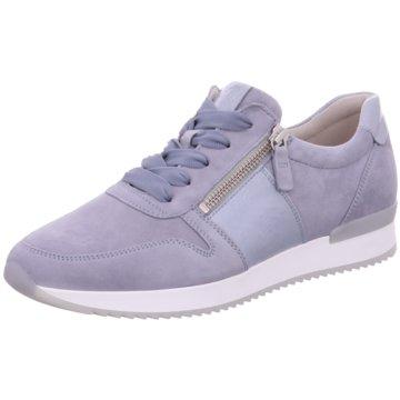 Gabor Sportlicher SchnürschuhSneaker blau