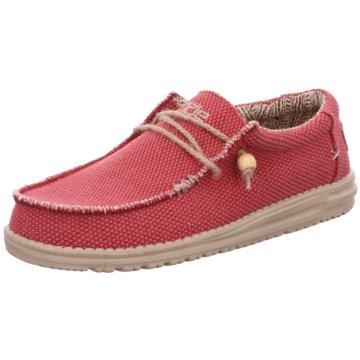 Hey Dude Shoes Mokassin SlipperWally Braided rot