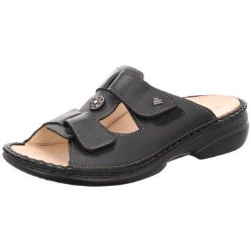 FinnComfort Komfort PantoletteLAGER schwarz