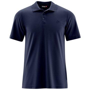 Maier Sports PoloshirtsULRICH - 152303 blau