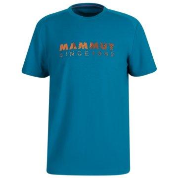 Mammut T-ShirtsTROVAT T-SHIRT MEN - 1017-09864 schwarz