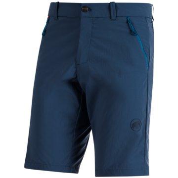 Mammut kurze SporthosenHIKING SHORTS MEN - 1023-00120 blau