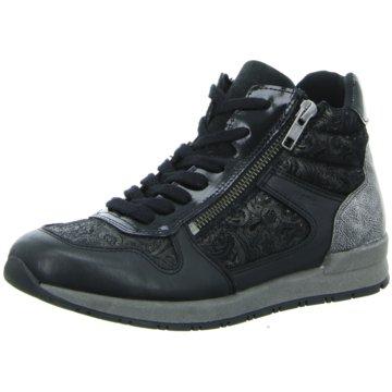 Trendy Freizeitschuhe Damen Schuhe Sportschuhe Schnürer 7435 Schwarz 39