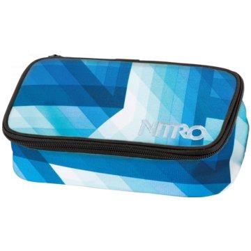 Nitro Bags Schüleretui ungefüllt blau