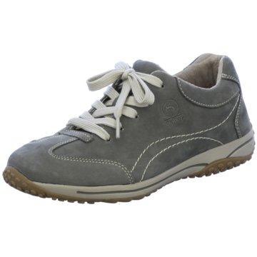 Legero Komfort Schnürschuh grau