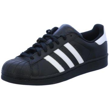 adidas Sneaker LowSUPERSTAR FOUNDATION - B27140 schwarz