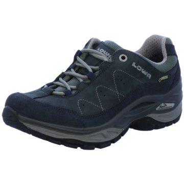 LOWA Outdoor SchuhToro II GTX Low Damen Wanderschuhe navy grau blau