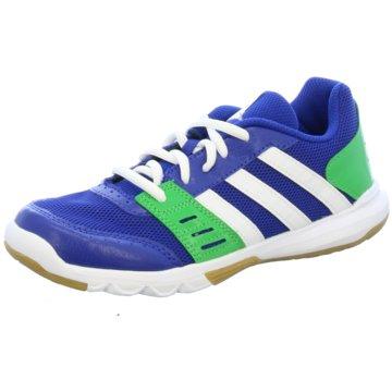 adidas Trainings- und HallenschuhEssential Star 2 K blau
