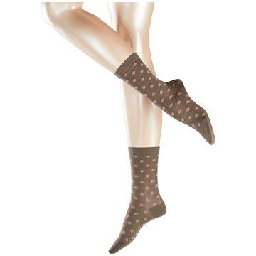 Falke Socken / Strümpfe braun