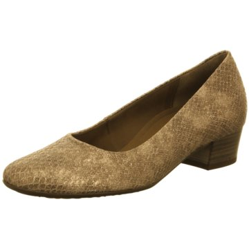 Gabor Flacher Pumps gold