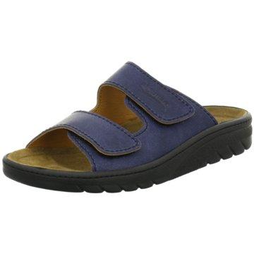 Algemare Komfort Schuh blau