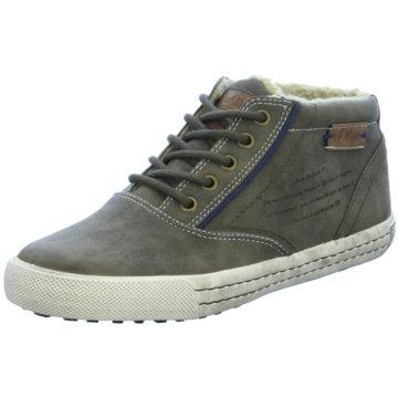 s.Oliver Sneaker High grün