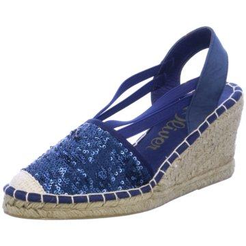 Saucony Espadrilles Sandalen blau