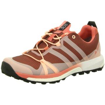 adidas TrekkingschuheTerrex Agravic GTX Damen Outdoorschuhe Trail Running pink rot