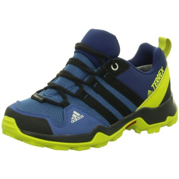 adidas Wander- & BergschuhTerrex AX 2R CP Kinder Outdoorschuhe blau gelb blau