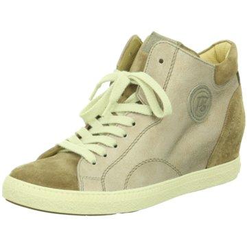 Paul Green Sneaker Wedges beige