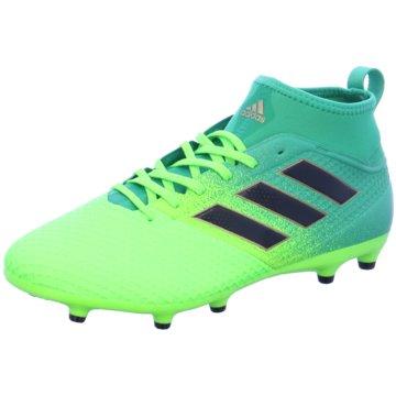 adidas Nocken-SohleAce 17.3 Primemesh FG Herren Fußballschuhe Nocken grün grün