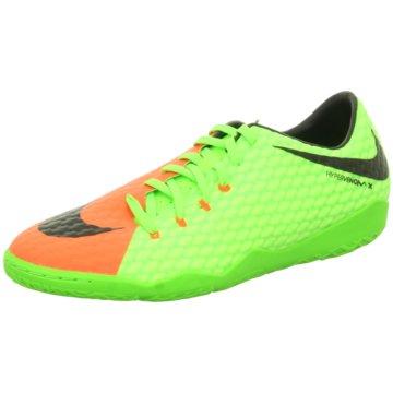 Nike Hallen-SohleHypervenomX Phelon III IC grün