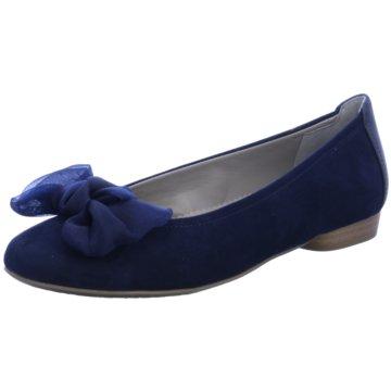 Jenny Eleganter Ballerina blau