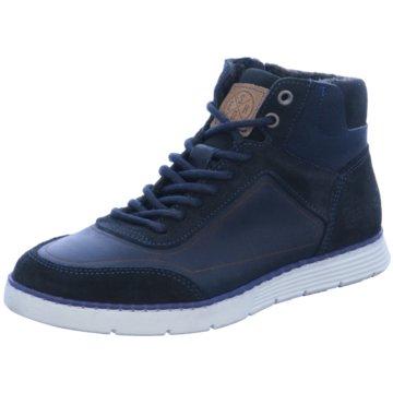 Bullboxer Sneaker High blau