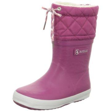 Aigle Gummistiefel pink