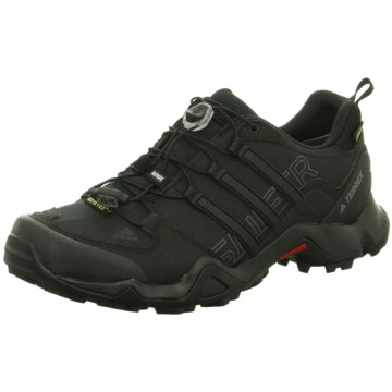 adidas TrekkingschuheTerrex Swift R GTX Outdoorschuhe Herren Trail-Running schwarz schwarz
