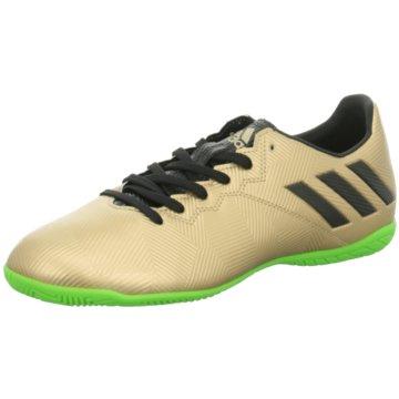 adidas Hallen-Sohle gold