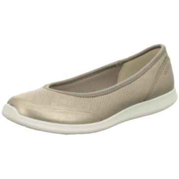 Ecco Komfort Slipper silber