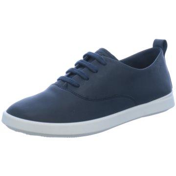 Ecco Sneaker Low blau