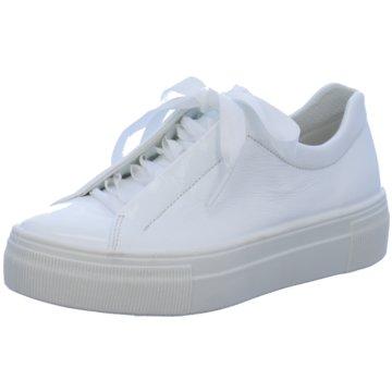 Legero Plateau Sneaker weiß